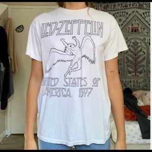 Brandy Melville Tops - Led Zeppelin band t-shirt